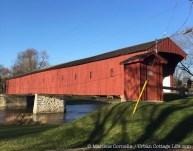 The Kissing Bridge, West Montrose | © 2015 Marlene Cornelis
