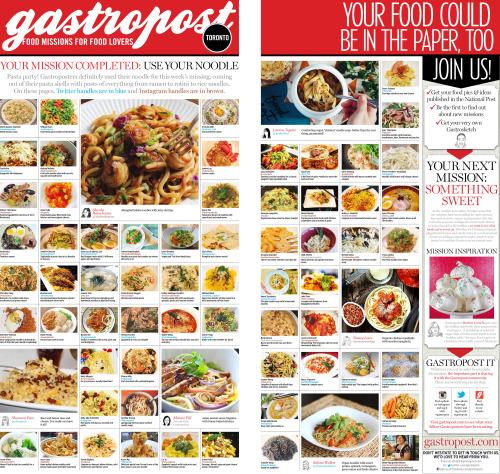 Gastropost Toronto 2015 12 19