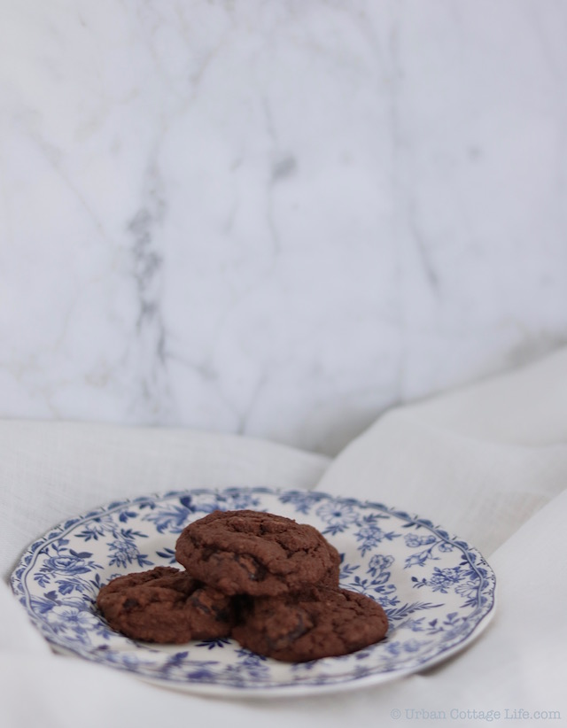 Dark Chocolate Sour Cherry Cookies | © Urban Cottage Life.com 2016