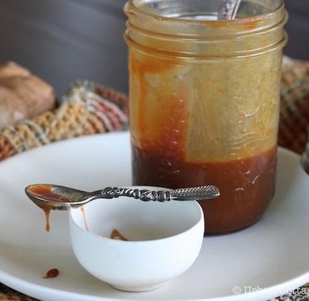 Classic Caramel Sauce   © Urban Cottage Life.com 2016