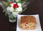 Cranberry Orange Walnut Tea Loaf | © UrbanCottageLife.com 2016