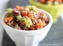 Simple Quinoa Salad   © UrbanCottageLife.com