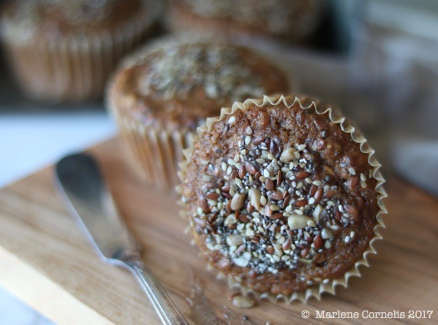 Buttermilk Bran Muffins from All the Sweet Things | © UrbanCottageLife.com 2017