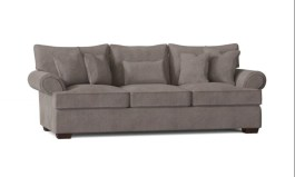 """Urban Maxwell 96"""" Rolled Arm Sofa with Reversible Cushions"""