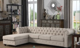 Urban Chester 112″ Wide Left Hand Facing Sofa & Chaise by Urban Couch