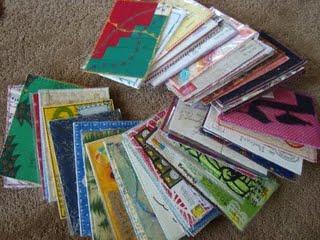 fabric postcard swap