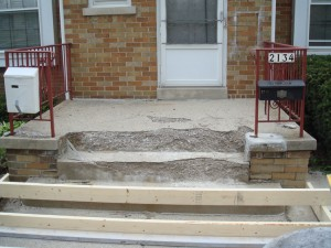Concrete Steps  Stoops Urban Creative Contractor