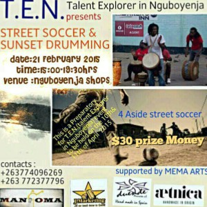SOCCER AND DRUMMING