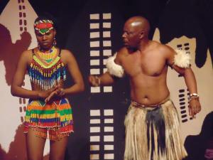 Bathabile and Memory on Stage: pic source Intwasa arts festival Facebook page