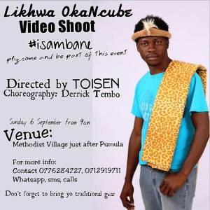 Likhwa OkaNcube Video Shoot #isambane