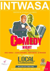 A mix of the Funniest Comedians @Intwasa2015