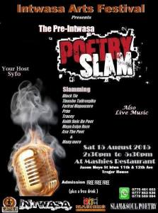 The pre Intwasa poetry Slam