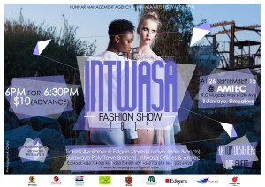 Intwasa Fashion Show will be a Intwasa Arts Festival KoBulawayo event