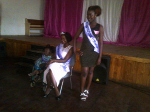The winners of Miss Inspirational