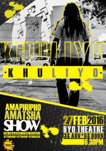 Khuliyo Live On Stage