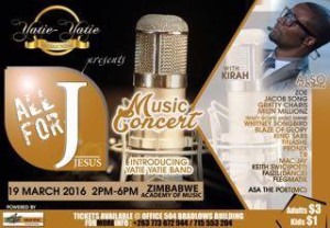 All For J Music Concert March 19 2016