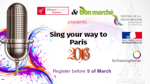Sing Your Way to Paris...