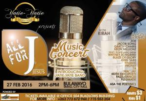 Dont Miss the All For J Music Concert
