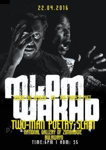 Mlom'Wakho to host a Two-Man Poetry Slam