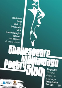 Shackespeare koBulawayo Poetry Slam