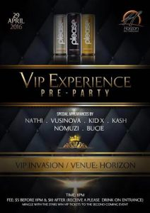 Dont Miss The Vip Experience Pre-Part