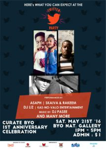 Performers for Twitter Party ZW