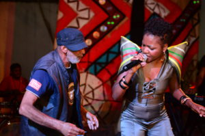 Nkwali Live at Women Wine & words Picture Enerst Makina