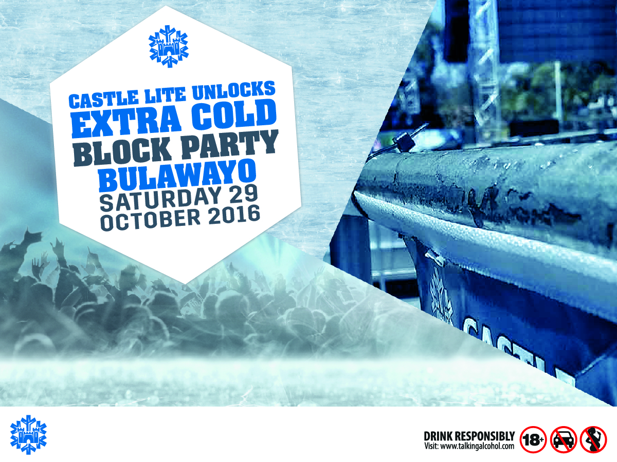 """Bulawayo to be unlocked at the """" Castle Lite Extra Cold"""