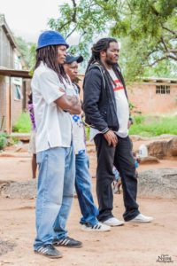 Witness with Thabani Moyo and Nkue Nkala at a Event recently Picture by @MgciniNyoni