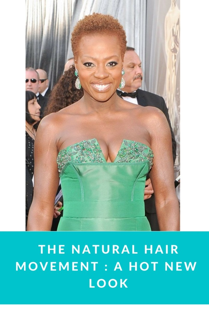 The Natural Hair Movement : A Hot New Look