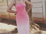 Stylish Bulawayo Samue Moreyour dressed on the ombre trend