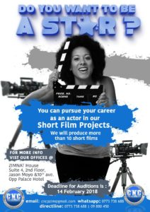 You Can Pursue Your Career As An Actor By Being Part Of the @CncProductions Short Film Projects