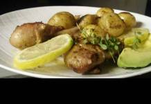 Urban Food Diary with Chef Zinzie: Lemon and Herb Chicken with New Potatoes