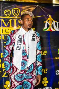 Shadel Noble at Miss Tourism Bulawayo Finals