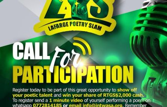 Lafarge Poetry Slam Bulawayo Edition Back