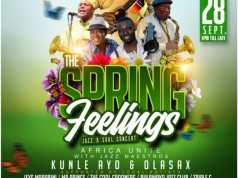 Happening Tonight In #Bulawayo The Spring Feelings Jazz & Soul Concert