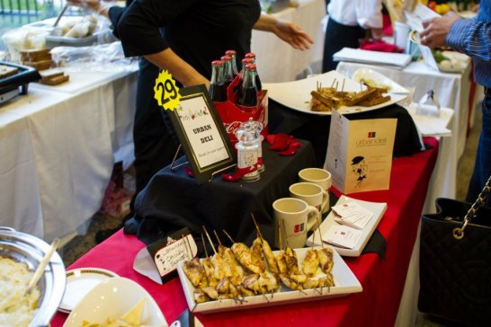 Urban Deli - Deli by Day samples as well as few items from our catering menu (Table 29)