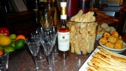 Vin Santo digestive & house made Cantucci & Grassini