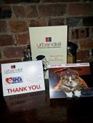 On Christmas Eve day we held our annual SPCA fundraiser at Urban Deli.