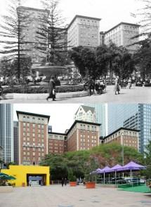 Biltmore Hotel Viewed Pershing Square . 1930