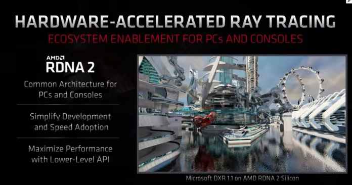 Hardware accelerated Ray Tracing is coming with RDNA2