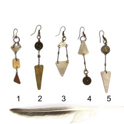MIxed Metal Mix and Match Earrings