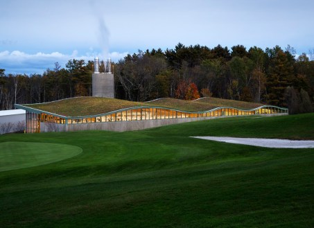 Hotchkiss School, Heating Plant, Location: Lakeville CT, Architect: Centerbrook Architects