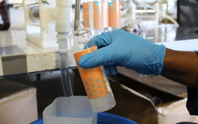 High Tech Battery Company Pivots, Partially, To Hand Sanitizer.