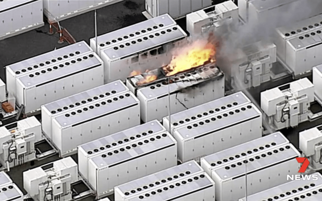 Tesla Megapack On Fire! Nonflammable Battery Chemistries Can Save The Day – Darcy Partners