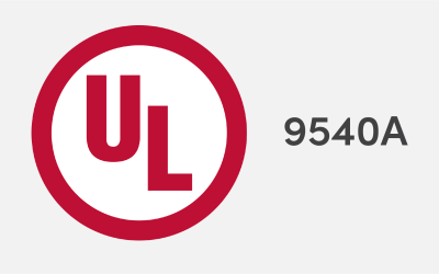 Urban Electric Power's Rechargeable Alkaline Battery Completes UL Testing for Fire Safety, Confirming Advantage Over Lithium-ion