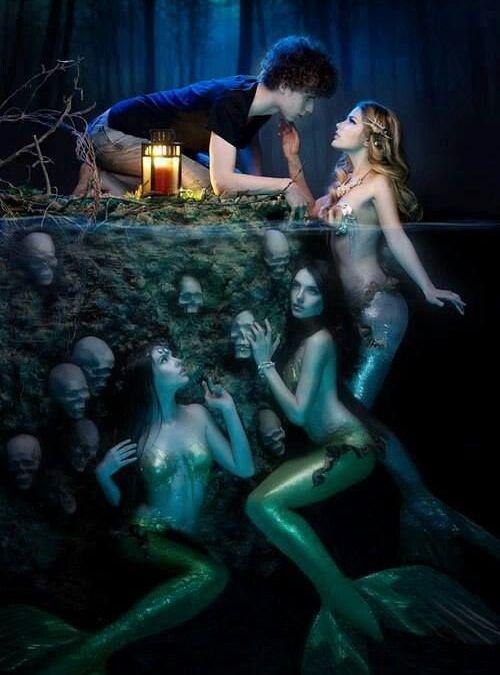 Where are all the great YA mermaid romance books?
