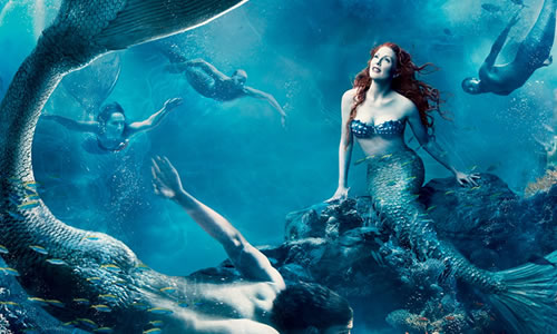 How do mermaids have sex?