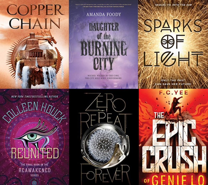 I'm setting up the last giveaway of young adult books for the summer – so  sign up to win 6 new scifi and fantasy releases.
