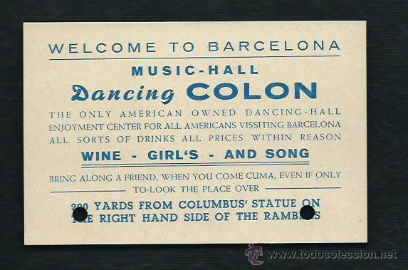 dancing colon, barcelona, restaurante amaya